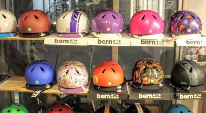 bernのキッズ用ヘルメットがたくさん入荷しました。