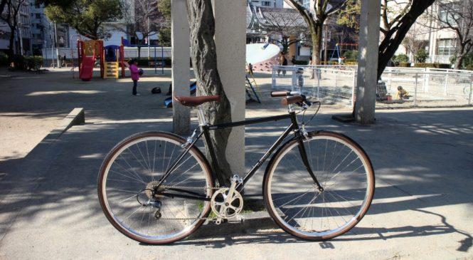 CRAZY SHEEPの700cクロスバイク「PERENDALE」がプロムナードハンドルバーになってリニューアル。