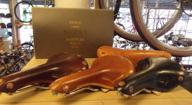 BROOKS/LEATHER-SADDLES