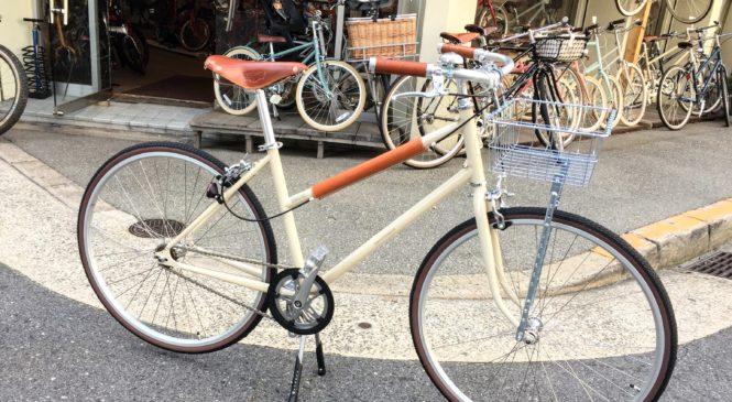 スーツが似合う大人の自転車。CRAZYSHEEP シャロレー