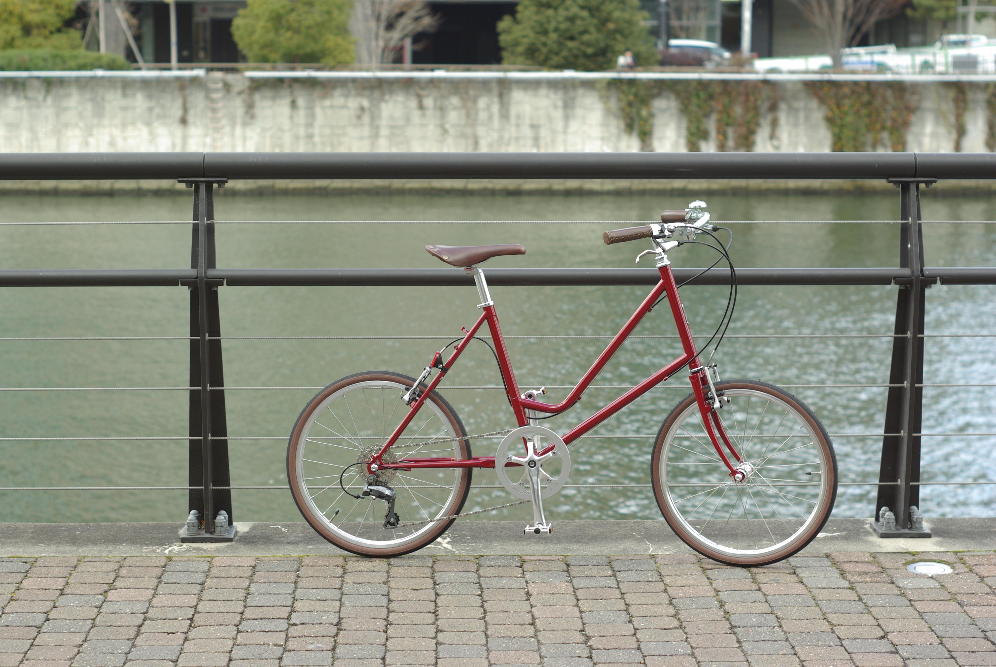 通勤自転車をオーダーメイドなんてどうでしょう?E.B.S LEAF451