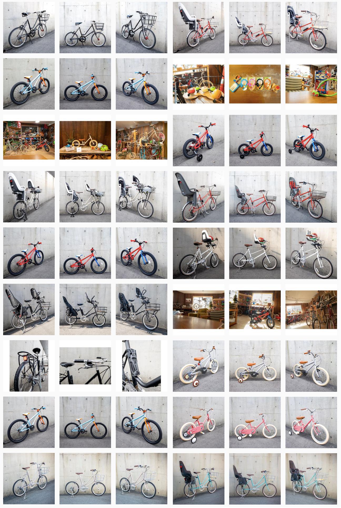 春の入園に向けて、送り迎え用の自転車をお探しのママ&パパさんはUNPEU2Fのインスタを今すぐチェック!