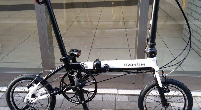 DAHON K3とDove Plus