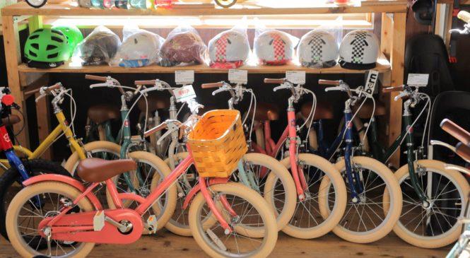 クリスマス直前。キッズバイクの在庫をご案内。