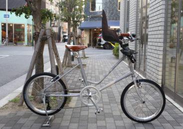 【在庫1台限り】ハンドメイドin京都のお子様乗せ自転車